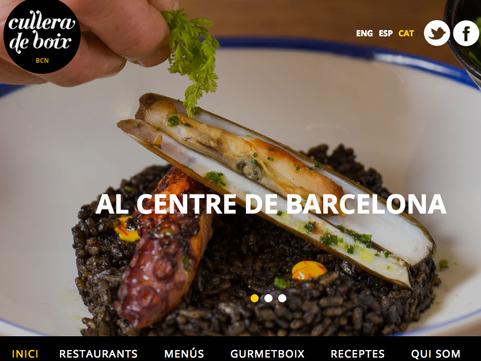 Una part de la imatge de la portada de la nova web de Cullera de Boix