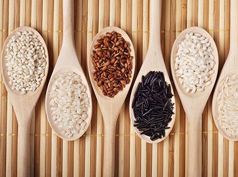 Sis varietats d'arròs / foto: Viktor Lugovskoy/ Thinkstock.