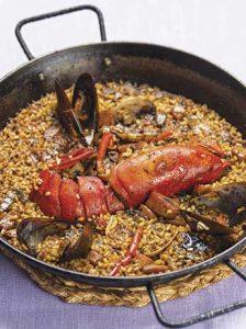 Un dels millors arrossos del restaurant Cullera de Boix a Barcelona.
