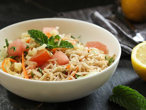 Ensalada de arroz basmati. Foto: Thinkstock
